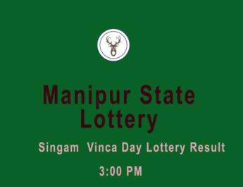 Manipur State Lottery Singam 3 PM Result