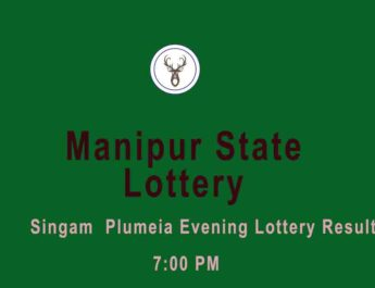 Manipur Lottery Singam 7 PM Result
