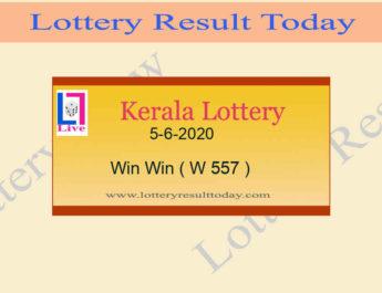 5-6-2020 Win Win Lottery Result W 557
