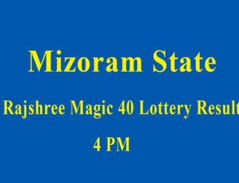 Rajshree Magic 40 Lottery Result Today