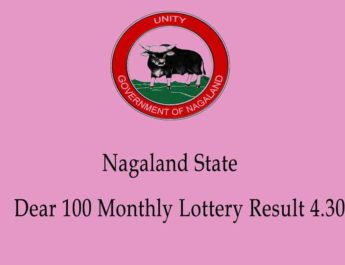 Nagaland Dear 100 Monthly Result