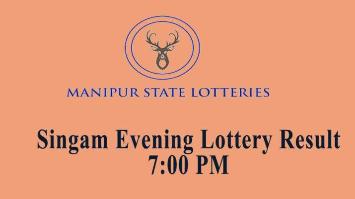 Manipur Singam Evening Lottery Result 7 pm