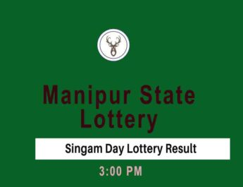 Manipur Singam Day Lottery Result - 3PM Result