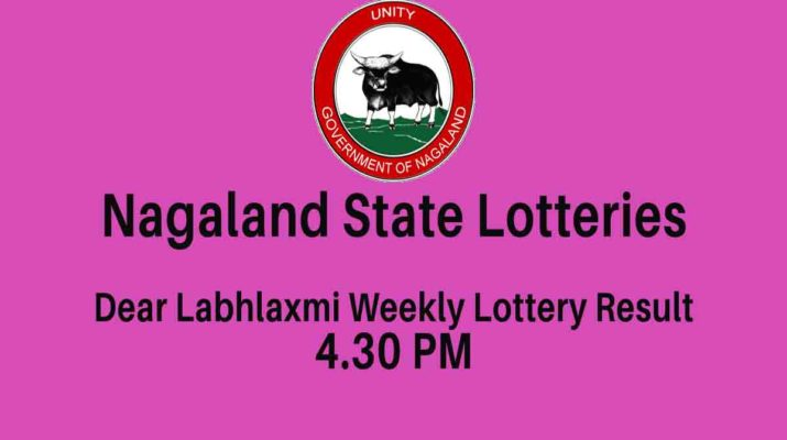 Nagaland Dear Labh Laxmi Weekly Lottery Result 6 PM