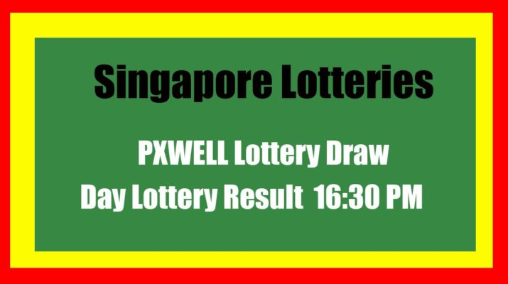 Singapore PXWELL Day Lottery Result 16.30 PM - Singapore Lottery Result