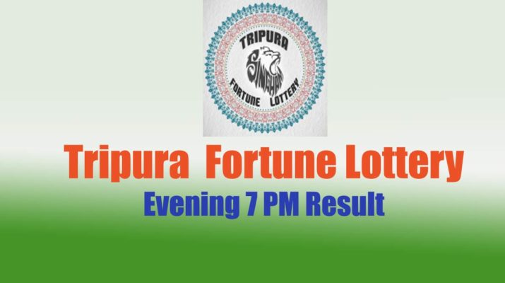 Tripura Lottery Result 7 PM - Fortune Evening Result Today Live