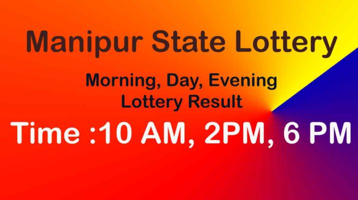 Manipur Lottery Result Live Today 10AM, 2PM, 6 PM