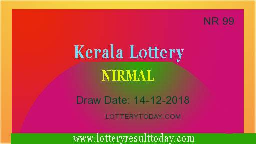 14/12/2018 Nirmal Lottery Result NR 99|Lottery Result Today